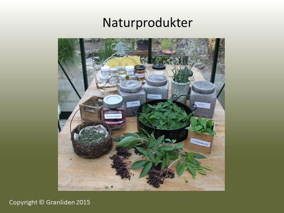Naturprodukter Copyright © Granliden 2015