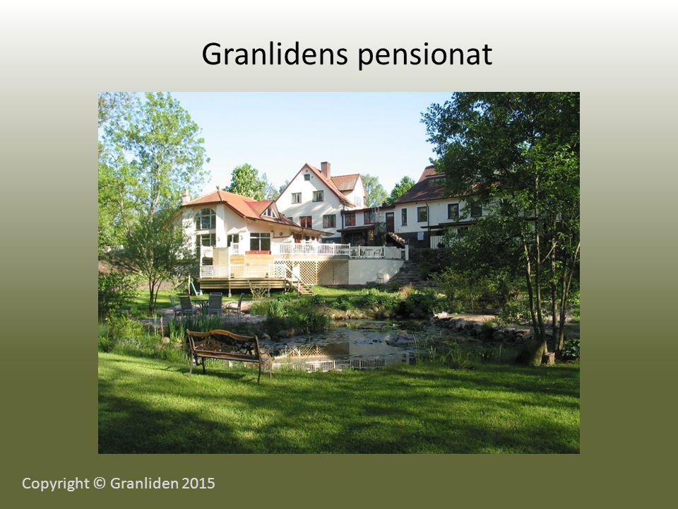 Granlidens pensionat Copyright © Granliden 2015