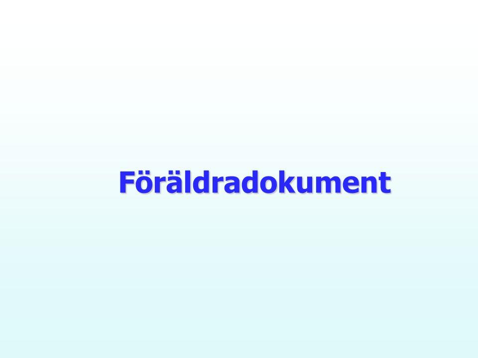 Föräldradokument