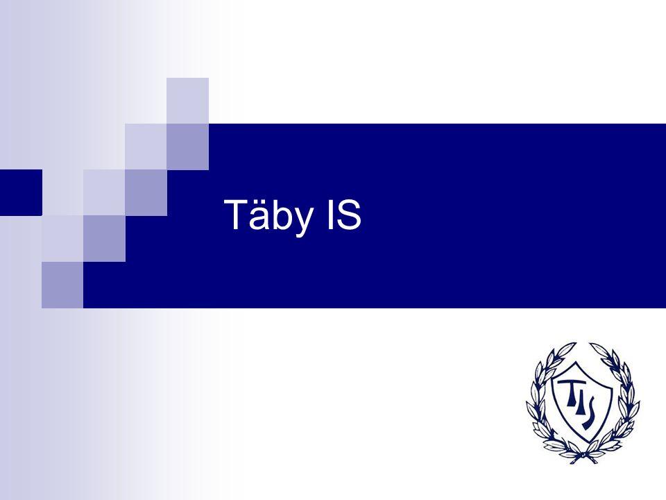 Täby IS Fakta Täby IS bildades 1923 Föreningen är en alliansförening och har sex sektioner (fotboll, innebandy, friidrott, golf, handikappidrott och skidor) Sammanlagt har föreningen ca 3000 medlemmar Täby IS är norra Stockholms största idrottsförening Innebandyverksamheten delades 2008 upp i två separata föreningar, Täby IS innebandyklubb (IBK), i vilket elitverksamheten bedrivs, och Täby IS innebandyförening (IBF), i vilken övrig innebandyverksamhet bedrivs
