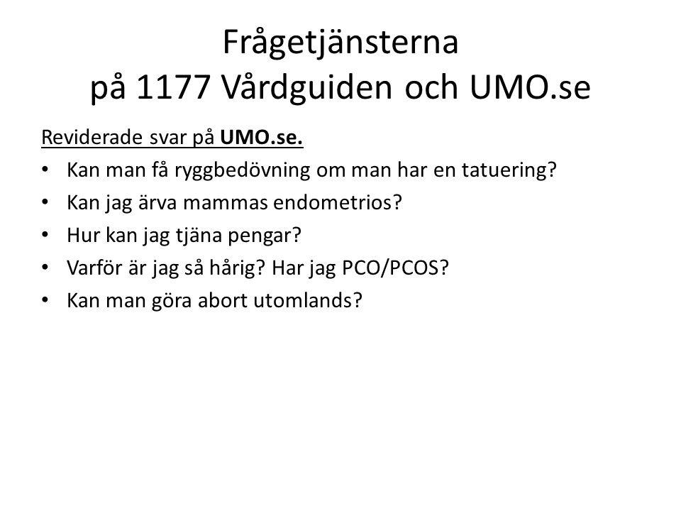 Reviderade svar på UMO.se. Kan man få ryggbedövning om man har en tatuering.