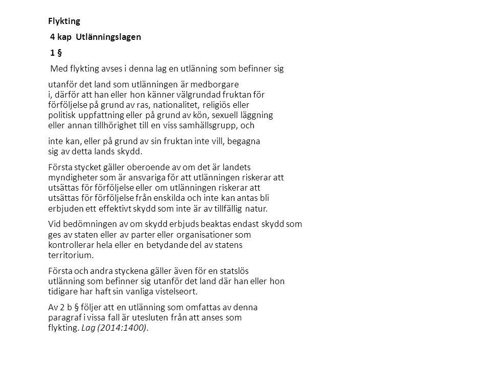 Flyktingmottagning Anvisning och anskaffning av lägenhet Planera inför mottagandet: info om flykting, hälsa, pers.