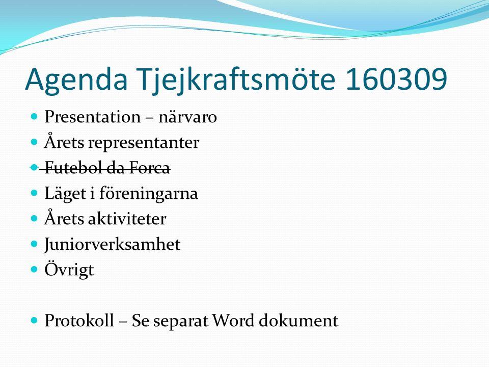 Föreningsrepresentanter 2016 FöreningOrdinarie Suppleant New Mills Indians- Jonas EngdahlAnki Lindén Nykvarns SK- Thomas HögströmLillemor Garbenius- Källström Södertälje Fotbollklubb – Anette Westman-Sjögren Enhörna IF- Per JardhagenMattias Andersson Mölnbo IFVakant (kommunicera via kansli Agneta Ersson) Hölö-MörköVakant Järna SK- Lennart KarlssonMikaela Sandell- Gustavsson Assyriska FF- Stefan Mattsson- Helena Lindström Pershagens SK- Mikael Lindblom Telge United FF- Anders Tjusberg Nya Södertälje KFF- Yasar Maximurad