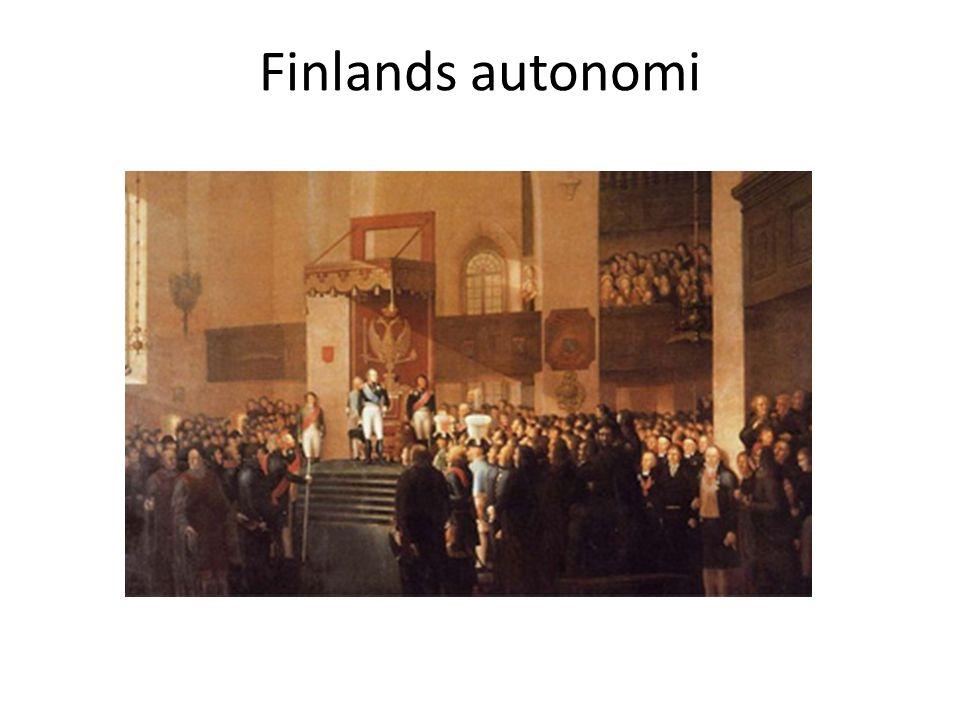 Finlands autonomi