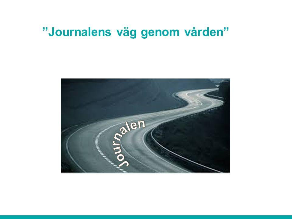 Journalens väg genom vården