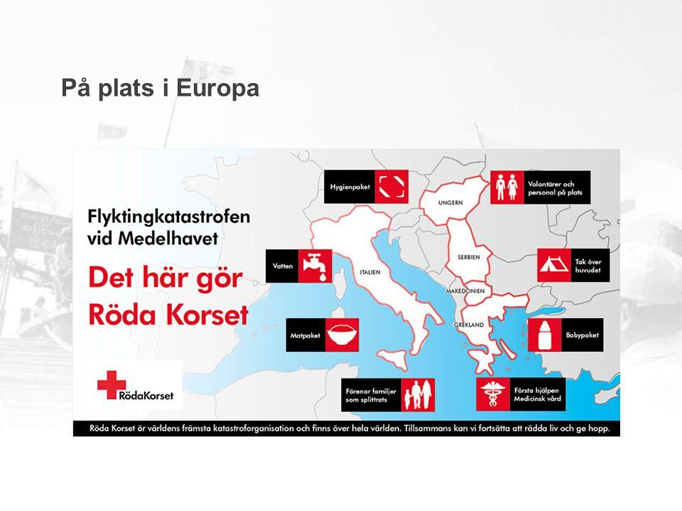 På plats i Europa