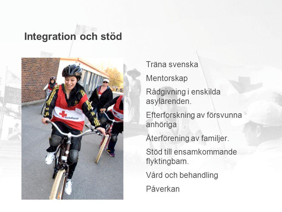 Träna svenska Mentorskap Rådgivning i enskilda asylärenden.