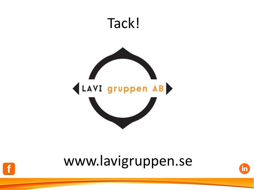 Tack! www.lavigruppen.se