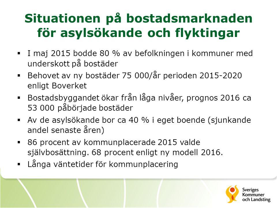Statliga ersättningar till kommuner och landsting för asyl- och flyktingmottagande Mkr  Migrationsverket