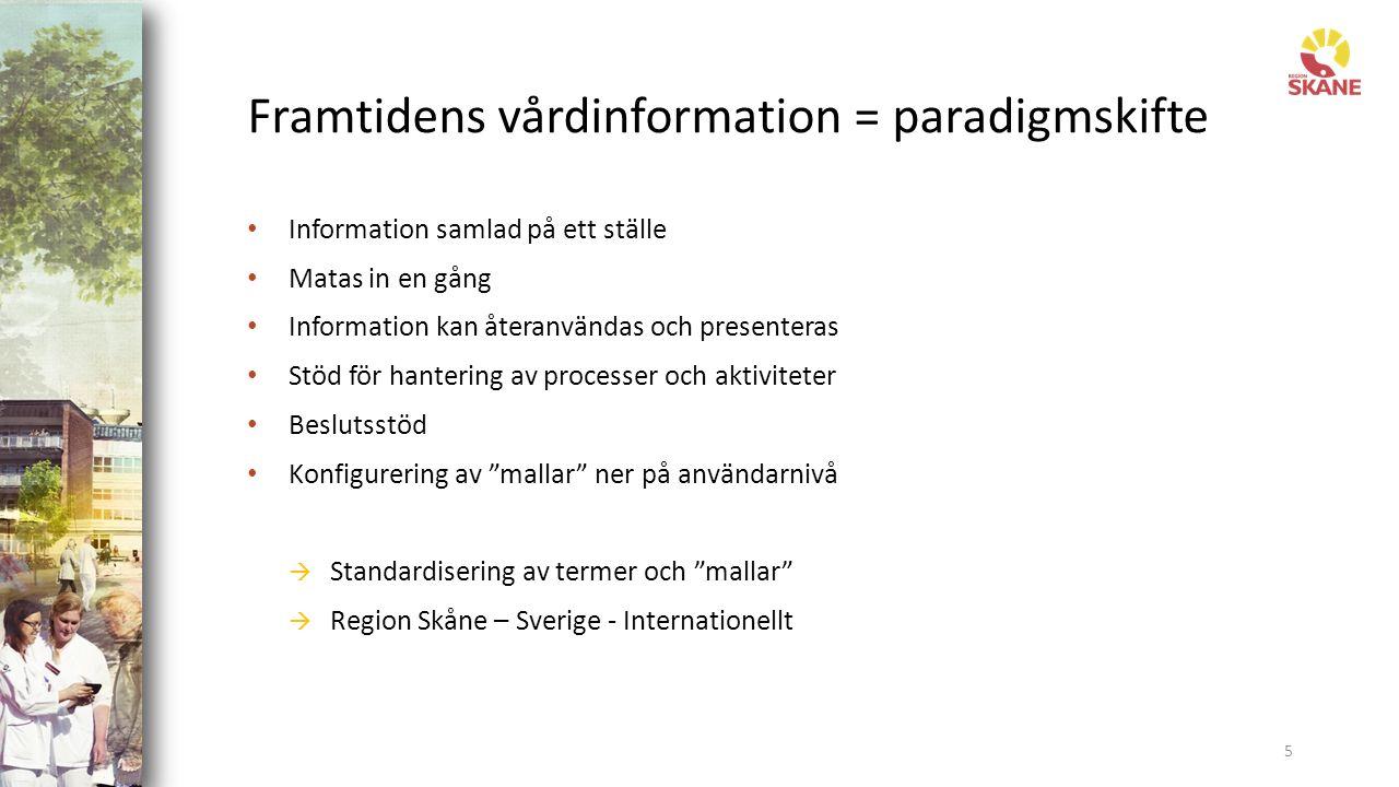 Informatiken är viktig – nationell samordning 6 Internationell standard i Sverige Principer och regelverk Översätta internationella mallar Anpassa och skapa nytt Personal, patient, organisation, utbud Verktyg och bibliotek Övergripande struktur - karta Mallar – system och termer Masterdata och innehåll Idag har vi krav på vilken information som utbyts mellan två system Imorgon ställer vi krav på att systemen ska arbeta tillsammans – därför måste informationen inuti systemen hanteras på samma sätt
