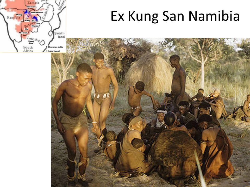 Ex Kung San Namibia