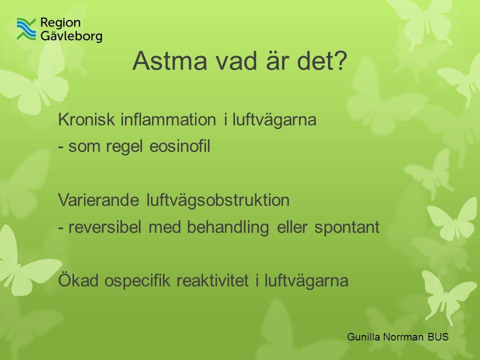 Astma vad är det.