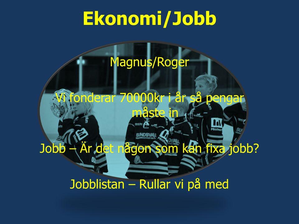 Ekonomi/Jobb Magnus/Roger Vi fonderar 70000kr i år så pengar måste in Jobb – Är det någon som kan fixa jobb.