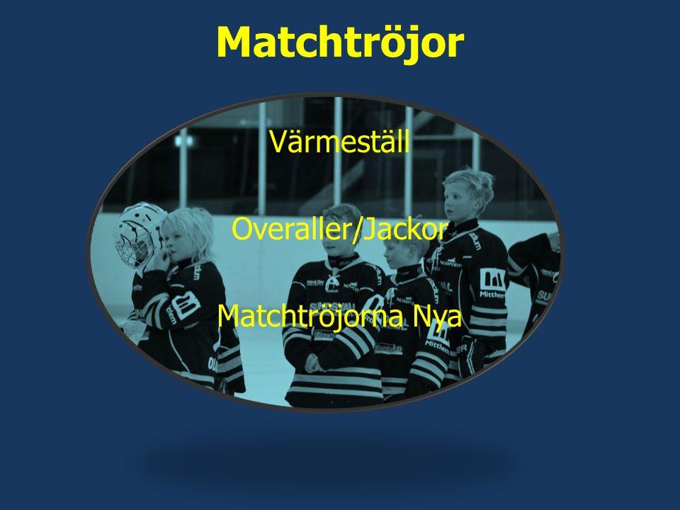 Matchtröjor Värmeställ Overaller/Jackor Matchtröjorna Nya