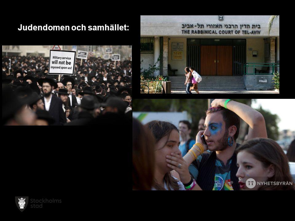 Judendomen och samhället: