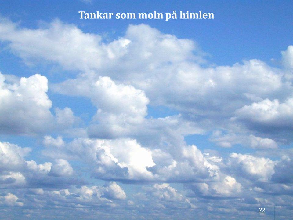 Tankar som moln på himlen 22