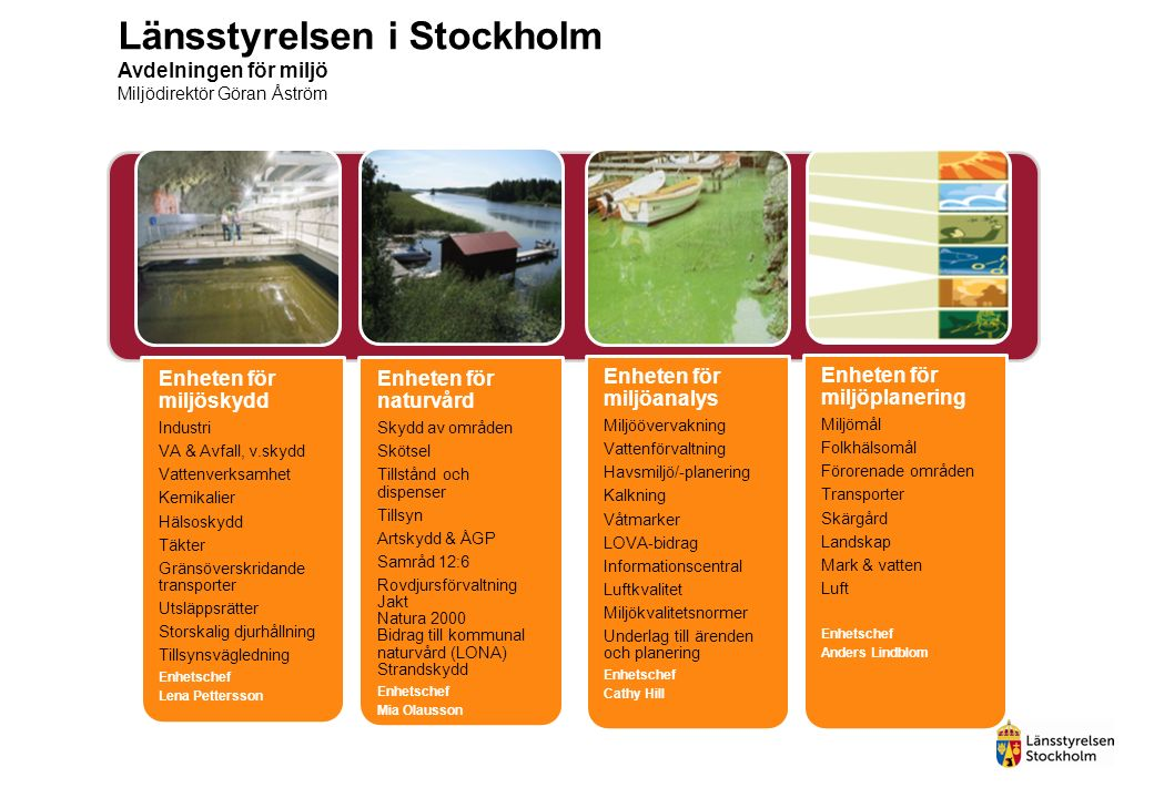 Tillskottsvatten till avloppsledningar Slottshagens RV, Norrköping (118.500 pers.) - 45% Ryaverket Göteborg (690.000 pers.) - 60% Läget i länet….