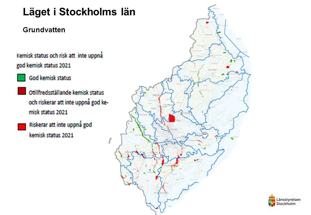 Grundvatten Läget i Stockholms län