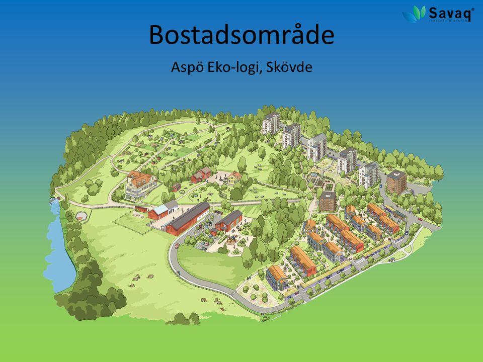 Bostadsområde Aspö Eko-logi, Skövde