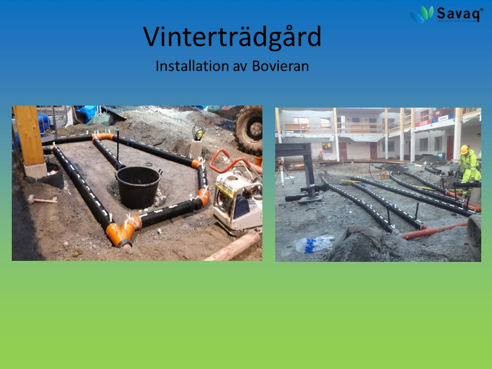 Vinterträdgård Installation av Bovieran