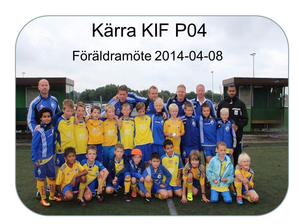 Kärra KIF P04 Föräldramöte 2014-04-08