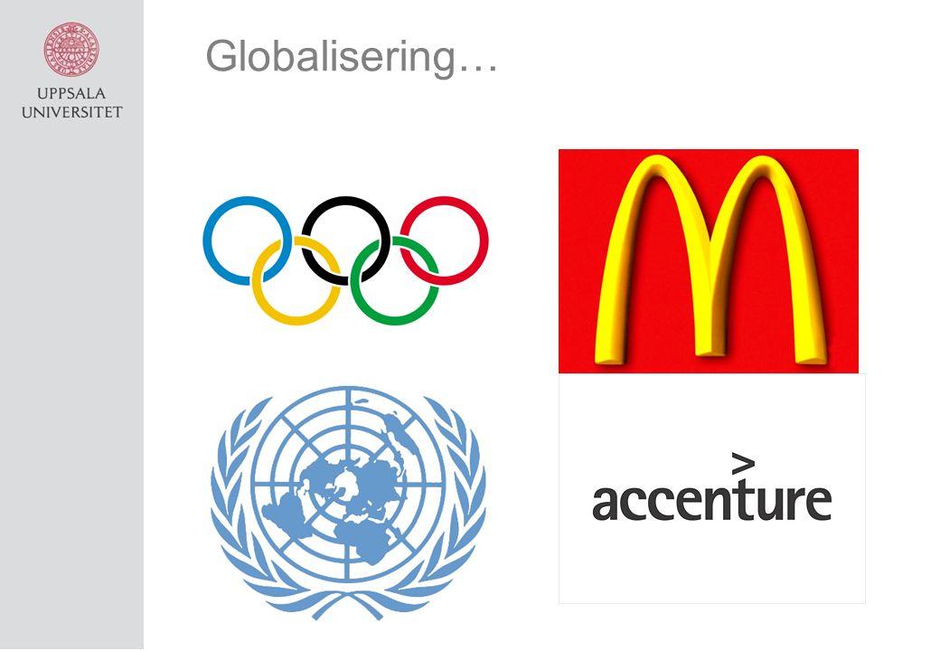 Globalisering…