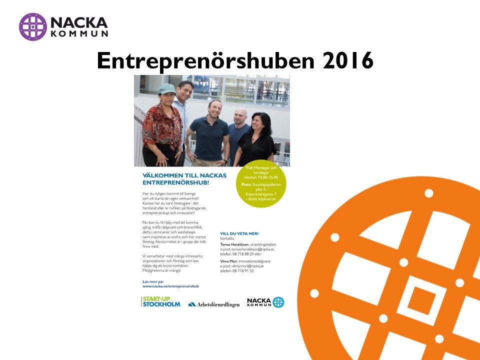 Entreprenörshuben 2016