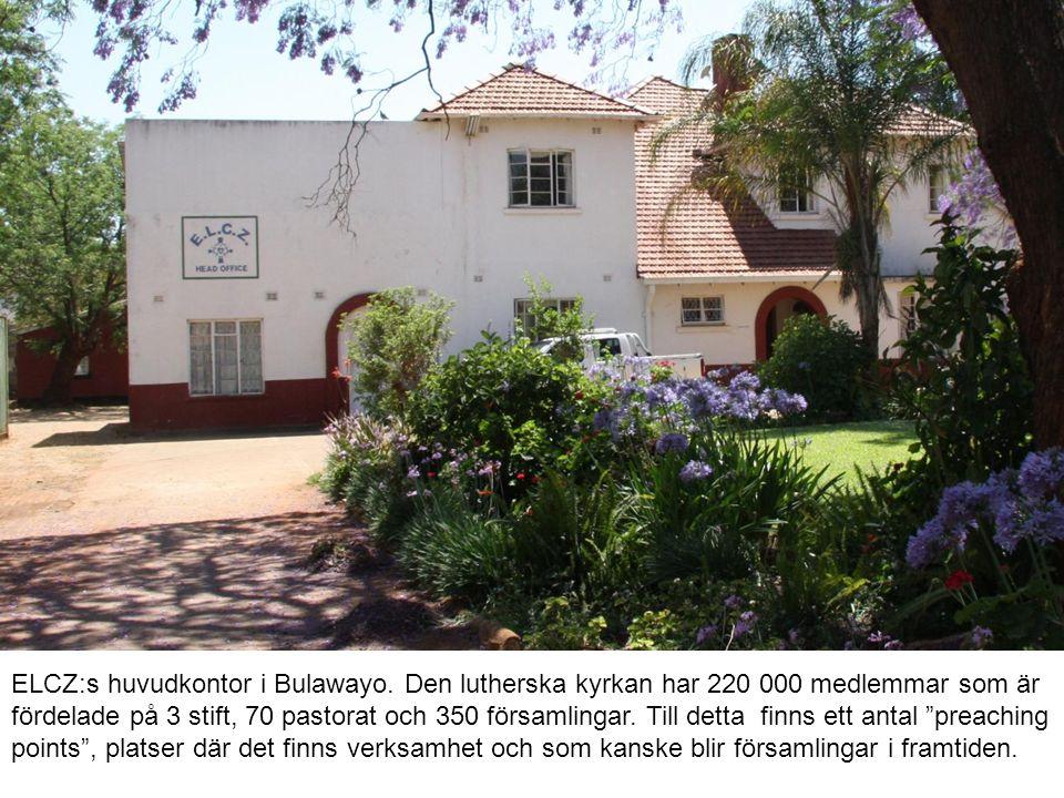 ELCZ:s huvudkontor i Bulawayo.