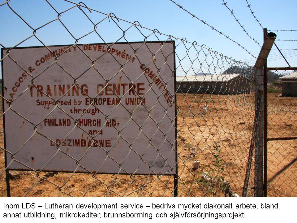 Inom LDS – Lutheran development service – bedrivs mycket diakonalt arbete, bland annat utbildning, mikrokediter, brunnsborrning och självförsörjningsprojekt.