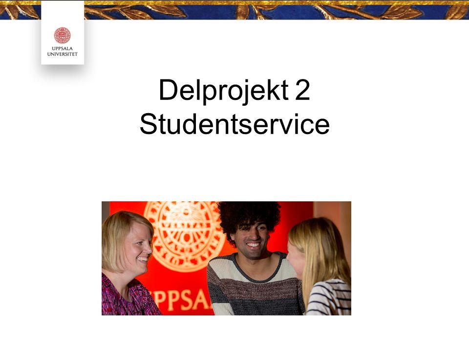 Delprojekt 2 Studentservice