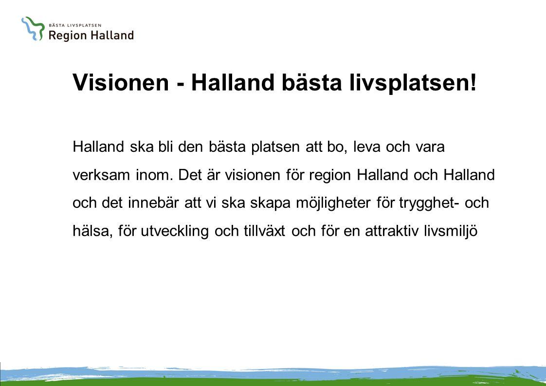 Visionen - Halland bästa livsplatsen.