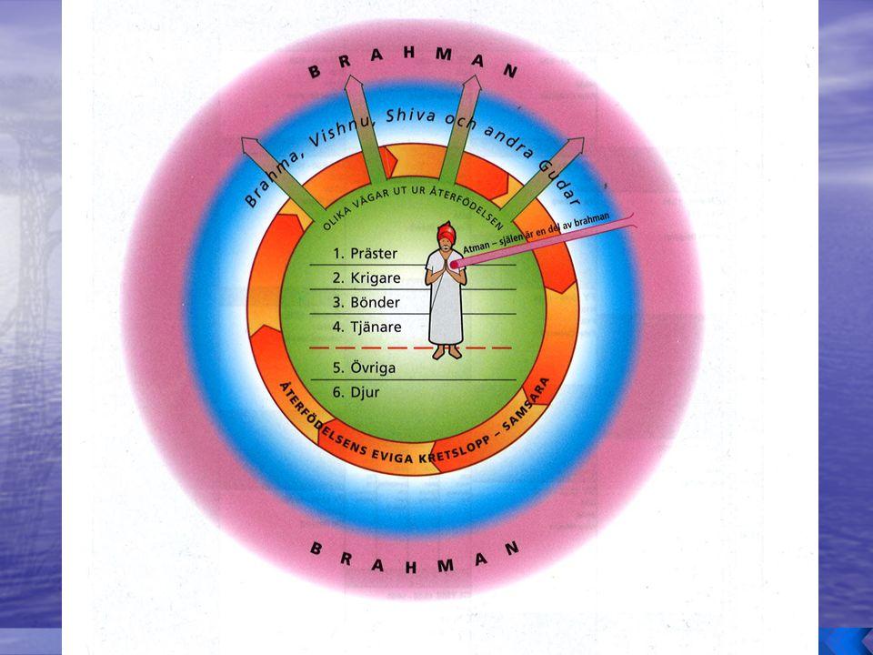 o Kastsystemet enligt den klassiska utformningen: o Stora variationer från plats till plats.
