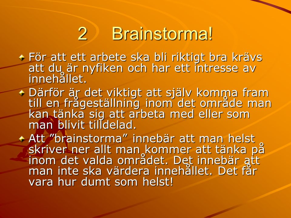 2 Brainstorma.