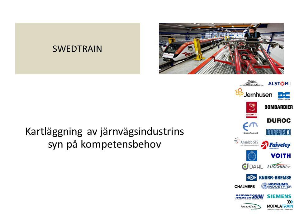 SWEDTRAIN Kartläggning av järnvägsindustrins syn på kompetensbehov