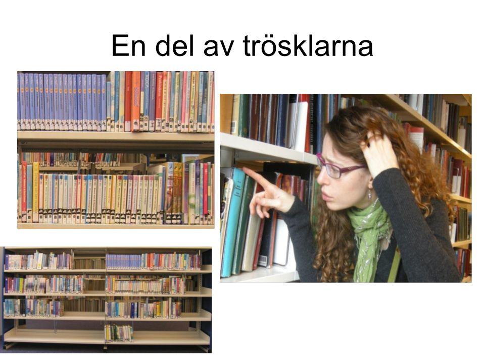 Bibliotekspersonalen Medvetenhet Diskreta Personlig bibliotekarie Dela erfarenheter Brukarråd Ge tillförlitligt material