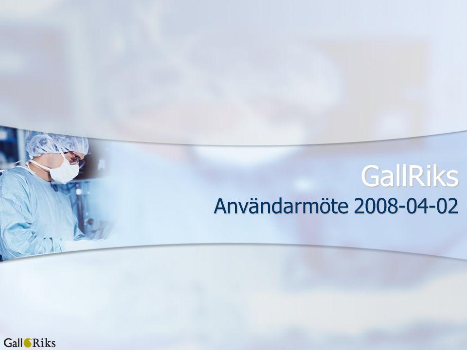 GallRiks Användarmöte 2008-04-02