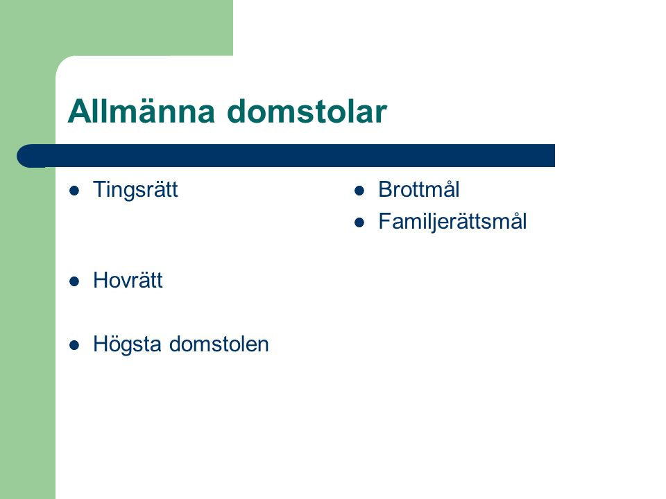 Rättegångsbalk 5 Kap.