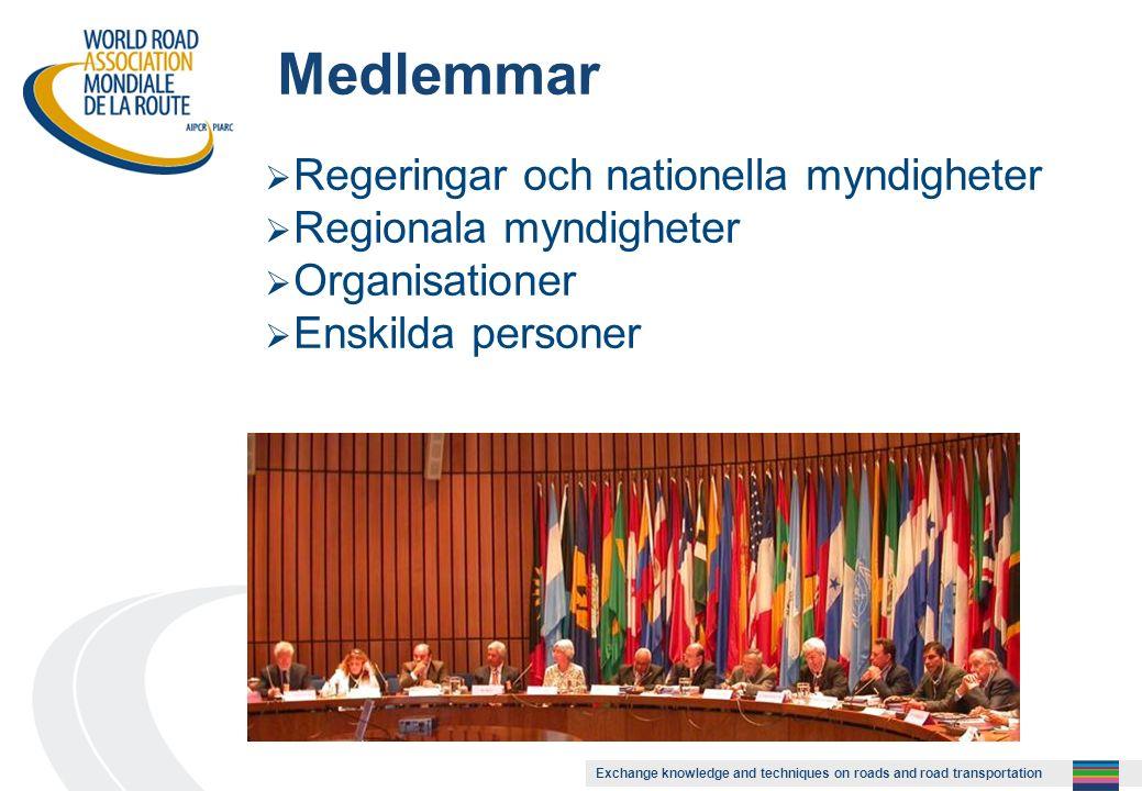 Exchange knowledge and techniques on roads and road transportation Presentation med rapportarkiv på NVFs hemsida