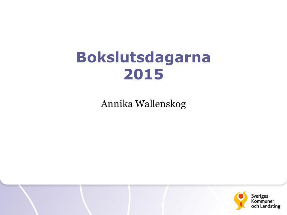 Bokslutsdagarna 2015 Annika Wallenskog