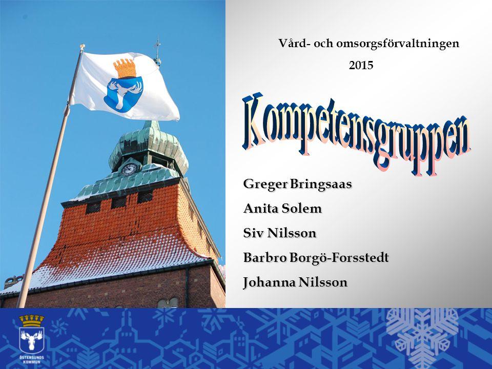 Greger Bringsaas Anita Solem Siv Nilsson Barbro Borgö-Forsstedt Johanna Nilsson Vård- och omsorgsförvaltningen 2015