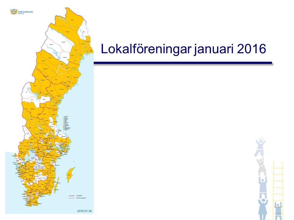 Lokalföreningar januari 2016