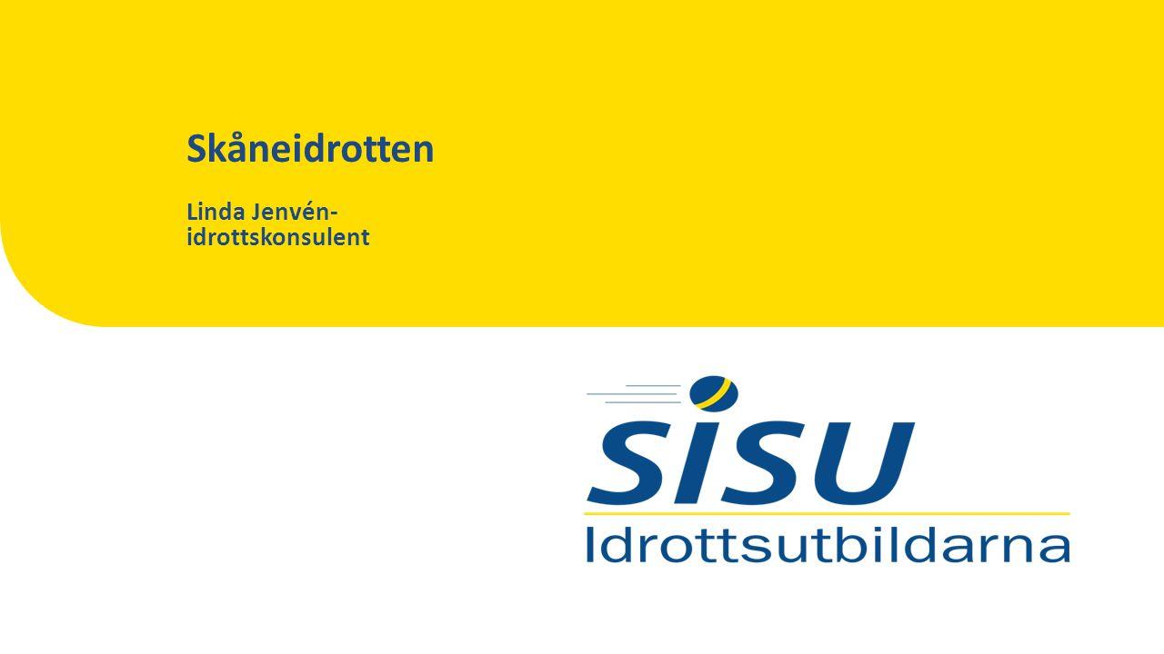 Skåneidrotten Linda Jenvén- idrottskonsulent