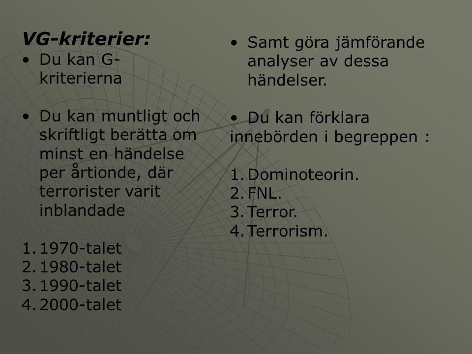 VG Planering Vecka39404142 VGLäs i häftet om: Världen efter kriget.