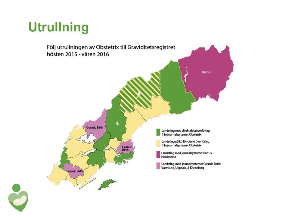 Schema utrullning KundVecka SLL Startades som pilot 2014 Örebro läns landsting 34-35 Halland 43-44 Östergötland 39-40 Dalarna 41-42 Region Skåne (43-44) 48-49 Västerbotten 45-46 Region Jämtland Härjedalen 47-48 Västernorrland 49-50 Landstinget Blekinge (51 & 2-3 2016) 4-5 2016 Landstinget Sörmland 6-7 2016 Gävleborg 8-9 2016 Västmanland 10-11 2016 Landstinget i Jönköping 11-12 2016 Kalmar läns landsting 13-14 2016 VGR 4 st installationer Våren 2016