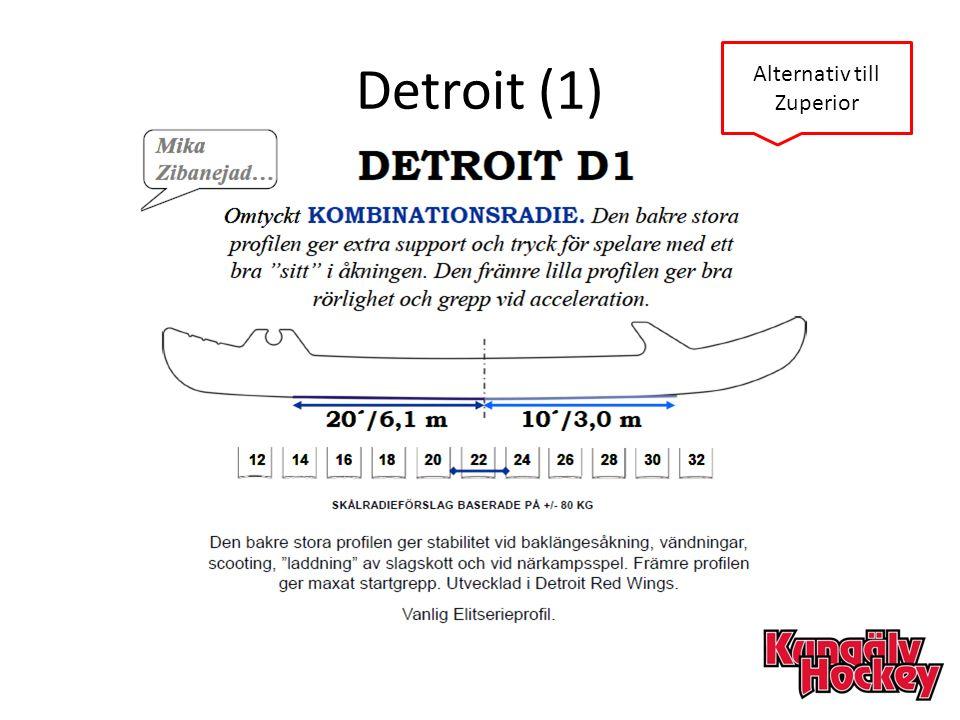 Detroit (1) Alternativ till Zuperior