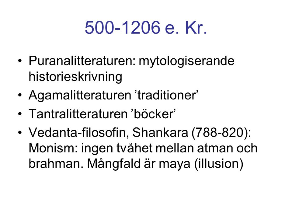 500-1206 e. Kr.