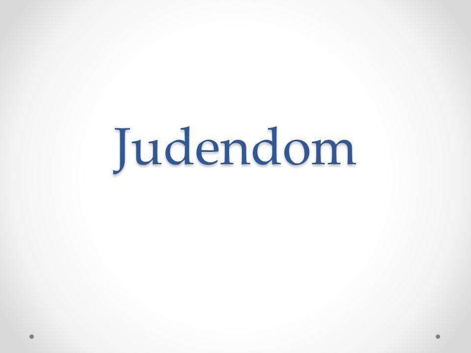 Det utvalda folket Grunden för judendomen är att Gud en gång uppenbarade sig och slöt förbund med Israels folk.