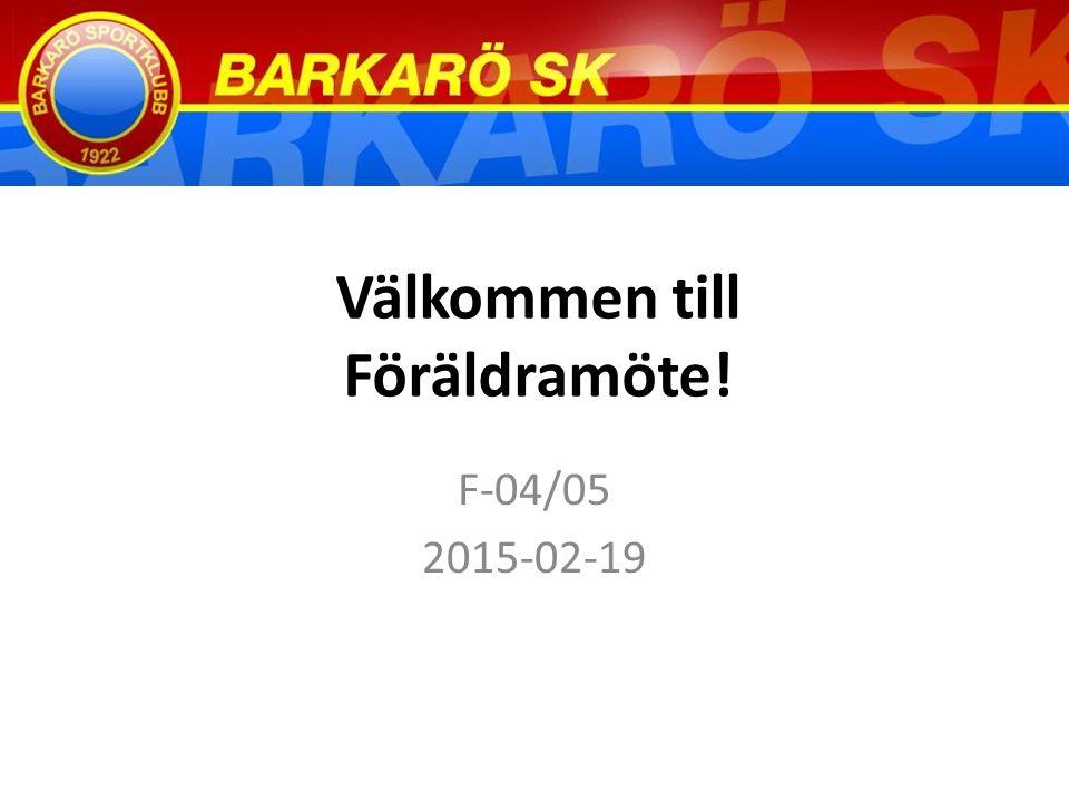 Agenda 1.Återblick & Reflektion 2014 2. Vad händer 2015.