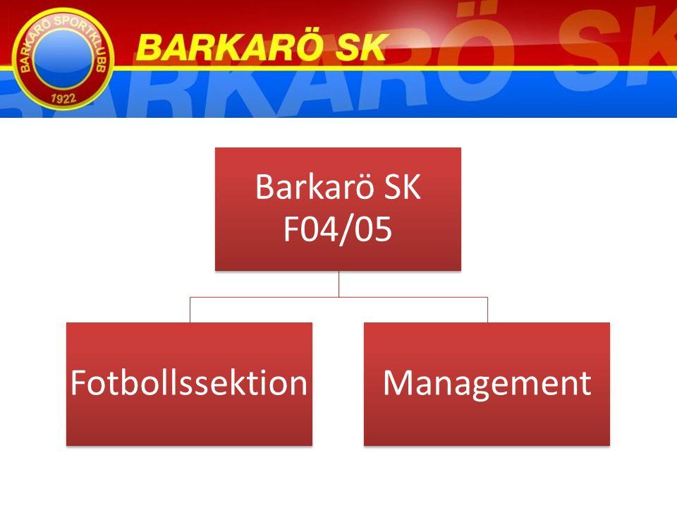 Barkarö SK F04/05 FotbollssektionManagement