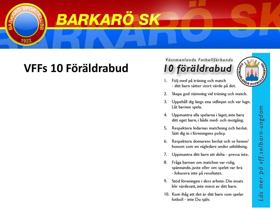 VFFs 10 Föräldrabud